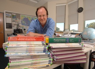 Michael Wysession, PhD, associate professor in Earth & Planetary Sciences never has a clean desk because he is always studying earthquakes, writing textbooks,...
