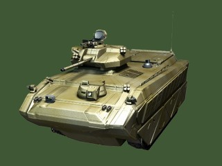 An infantry fighting vehicle is an armored vehicle used to carry infantry into battle.
