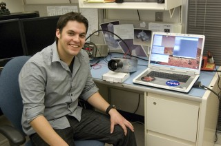 ASU graduate student Michael Veto has begun work on an infrared and visible camera system that will fly as part of the Prox-1 satellite payload. The infrared...