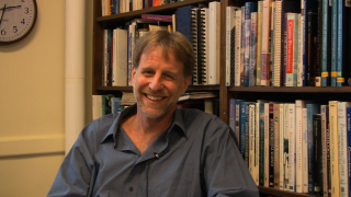 Alan Werner, Professor of Geology at Mount Holyoke COllege