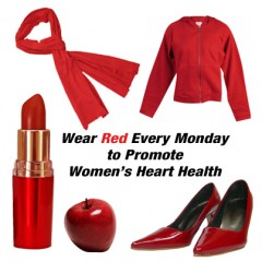 The Healthy Monday initiative urges Americans to go beyond Go Red for Women Day and sport something red every Monday to raise heart-health awareness all year...