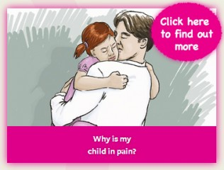 "From ""My Child Is In Pain"" Website"