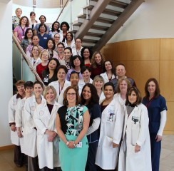 Oncology nurses at The Cancer Institute of New Jersey