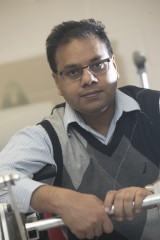 Anurag Purwar, PhD, a Research Associate Professor in the Department of Mechanical Engineering at Stony Brook University.