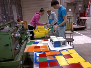 Members of the Class of 2013 are raising funds to create a large-scale fully functional Rubik's Cube. The Rubik's Cube will be unveiled during the Rensselaer...