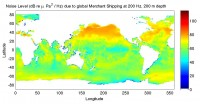 Newswise: New Maps Show How Shipping Noise Spans the Globe
