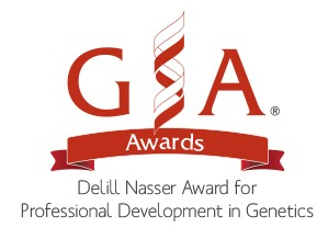 The DeLill Nasser Award for Professional Development in Genetics is given to graduate students and postdoctoral researchers by the Genetics Society of America.