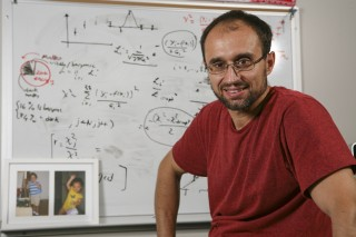 Dr. Massimiliano (Max) Bonamente, University of Alabama in Huntsville associate professor of physics, who helped then-UAH graduate student David Landry...