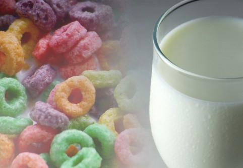 Newswise: A Glass of Milk After Eating Sugary Cereals May Prevent Cavities