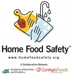 Visit www.HomeFoodSafety.org for tips and information on preventing food poisoning and to download the Is My Food Safe? app.