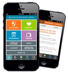 New Mobile App puts vaccine answers at parents' fingertips