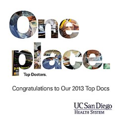 More than 130 physicians named Top Docs by San Diego Magazine.