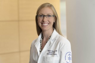 Breast surgeon Melissa L. Pilewskie, MD