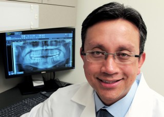 Dr. Andres Pinto, Case Western Reserve University's School of Dental Medicine