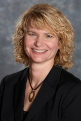 Susan Farr, Ph.D., associate professor of geriatrics at Saint Louis University, conducts research on aging and dementia.
