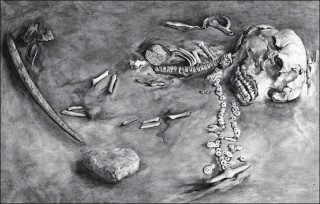 Remains of 24,000 Year-Old Mal'ta Boy