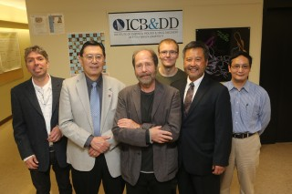 Research collaborators from Stony Brook's Institute for Chemical Biology & Drug Discovery (ICB&DD) with Benjamin S. Hsiao, PhD, Vice President for Research...