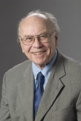 Murray Straus, founder and co-director of the UNH Family Research Laboratory and professor emeritus of sociology.