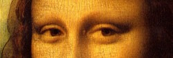 Caption: Despite claims to the contrary, the eyes of the Mona Lisa do not make saccades.
