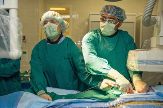 Teams at University of Michigan Frankel Cardiovascular Center implant first GORE® TAG® Thoracic Branch Endoprosthesis for thoracic aneurysms (file photo).