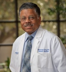 Dr. Abhimanyu Garg, Chief of the Division of Nutrition and Metabolic Diseases at UT Southwestern