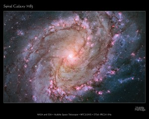 NEARBY SPIRAL GALAXY IS A HOTBED OF STAR BIRTH.  