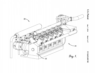 Figure of the air control system from the patent paperwork.