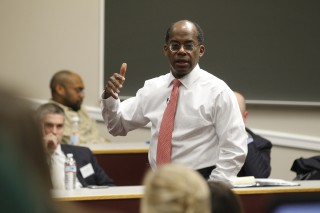 TIAA-CREF President & CEO Roger Ferguson at Darden Leadership Speaker Series