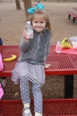 More kids are drinking water and being active, a major factor in reducing childhood obesity rates.