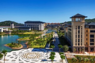 The Macau Friedman Scholars program will provide undergraduate honors students from the University of Macau (pictured) the opportunity to enroll at the George...