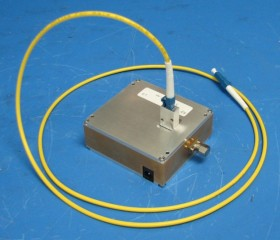Prototype Integrated Receiver using the new unformatted fiber optic link
