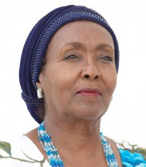 Edna Adan, the inaugural recipient of the University of Pennsylvania School of Nursing's  Renfield Foundation Award for Global Women's Health.