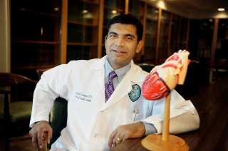 Dr. Anand Irimpen, an associate professor of medicine for the Tulane Heart and Vascular Institute and chief, cardiology section, Southeast Louisiana Veterans...