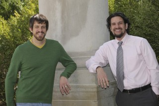 Dr. Philip Kovacs, left, and Dr. Ryan Weber are the UAH developers of Complexity Engine.