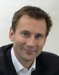 Jeremy Hunt, the United Kingdom's Secretary of State for Health