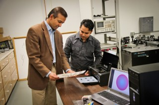 University of Utah electrical engineers Ajay Nahata and Barun Gupta used a $60 inkjet printer with silver and carbon ink cartridges to create a new, widely...