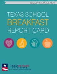 Texas Hunger Initiative report cover