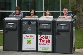 Stony Brook University student Eco Leaders (L-R) Tom Bruno Risa Cheung Jessica Quickle by John Griffin Michael Shea.jpg