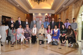 UofL faculty recently traveled to Lahore, Pakistan to discuss plans for the MPH program.