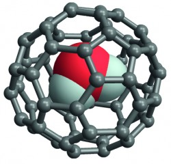 Studies of the molecular structure of the water-endofullerene H2O@C60 may enhance laboratory nuclear magnetic resonance (NMR) and clinical magnetic resonance...