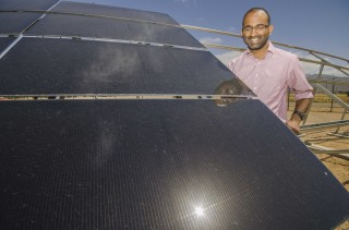Sandia National Laboratories researcher Kiran Lakkaraju leads a modeling project that supports the goals of the Department of Energy's SunShot Initiative....