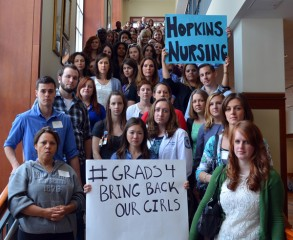 Students at the Johns Hopkins School of Nursing