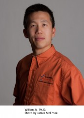 William Ja, PhD, is an assistant professor at The Scripps Research Institute, Florida campus.
