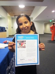 Last year, Sammy Martinez, 7, had 257 medical appointments at CHLA to treat Goldenhar Syndrome, a congenital malformation of the facial area and spine....