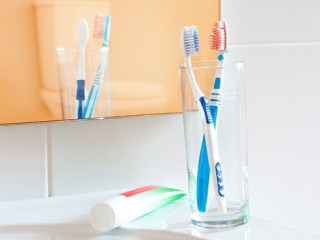 Most people store their toothbrushes in their bathroom, but did you know your toothbrush is exposed to gastrointestinal microorganisms that may be transferred...