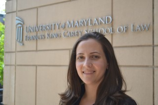 Laura Dunn, UM Carey Law student and founder and director of SurvJustice