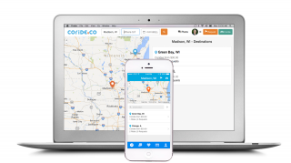 Coride is debuting a ridesharing service accessible from smartphones and computers. The company is getting ready to launch its mobile apps for iOS and Android.