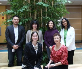 (Top row, left to right) Johnny Phan; Krystal Nomie, Ph.D.; Mariana Aguirre; Malini Udtha, Ph.D.; (Bottom row, left to right) Jennifer Sanner, Ph.D.; Susan...