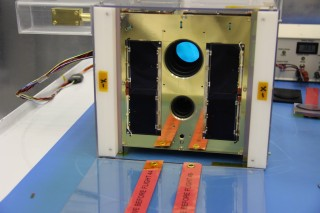 Two nanosatellites were launched from Yasny, Russia, at 15:11:11 Eastern Daylight Time today by Anthony Moffat, of the University of Montreal and the Centre...