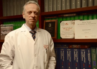 "Raul Artal, M.D., chair of OB/gyn at Saint Louis University, has become a ""Champion"" for the Center for Medicine after the Holocaust."